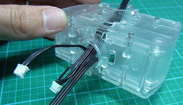 組立ポイント バッテリーボックス