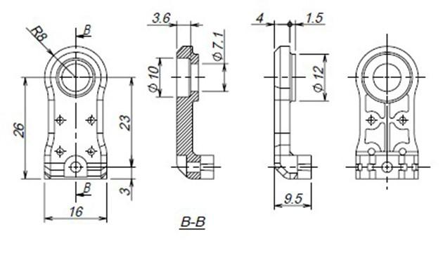 KXR関連パーツの寸法図を公開しました!