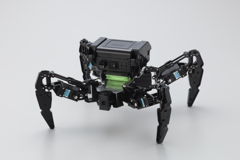 KMR-P4 4脚ロボットを6脚ロボットに組み替える