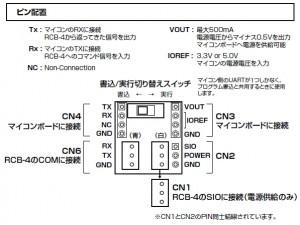 RCB4_ConversionBoard_Pin