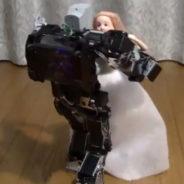 人工知能による踊るロボット